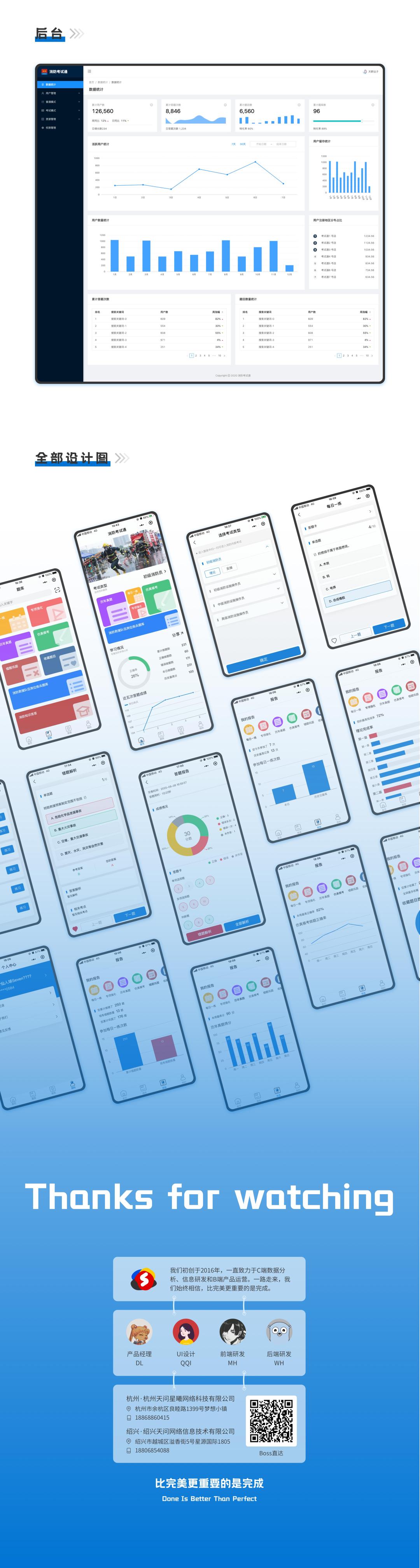 产品案例   线上职业考试软件平台-天问信息博客平台